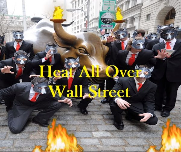 Heat All Over Wall Street AlbumpicforStore
